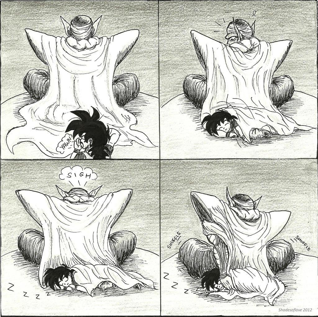 Gohan's Blanket by shadesoflove