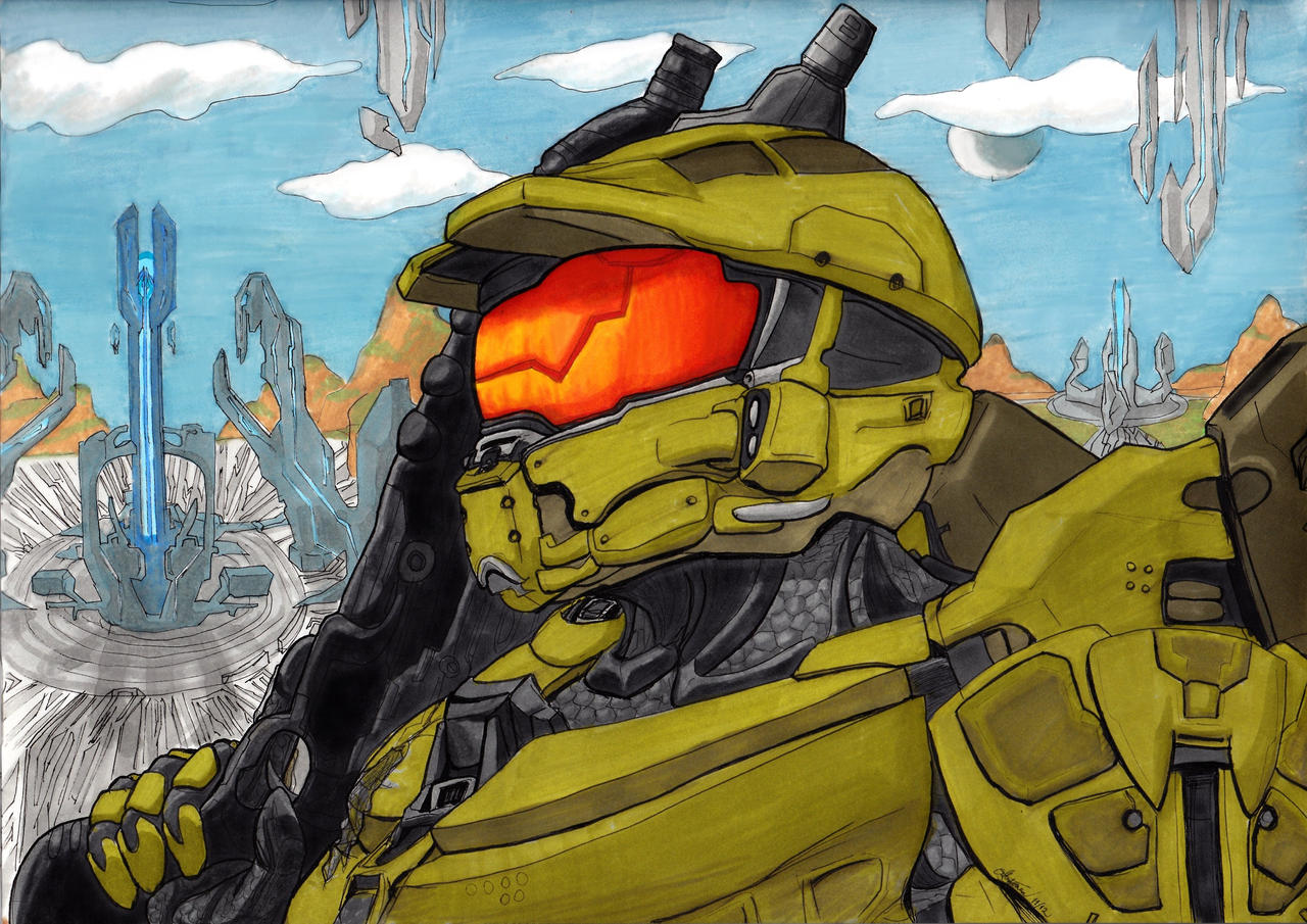 Master Chief by shadesoflove