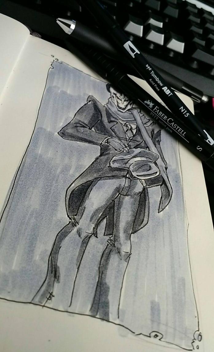 Joker  by TheOneSketch