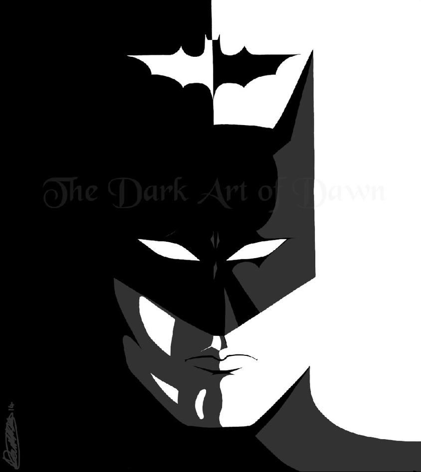 The Dark Knight by blood-stained-hands