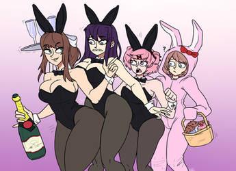 Doki Doki Playboy Club by HellOnEarth-III