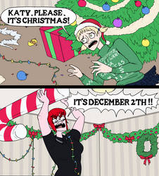 Stop Premature Christmas Decorating by HellOnEarth-III