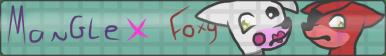 Mangle X Foxy Button by NeoWolfArtist