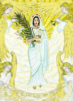 Saint Cecilia by Theophilia