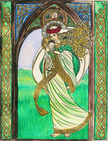 Our Lady Queen of Ireland by Theophilia