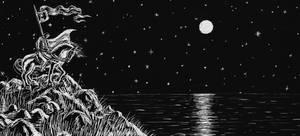 Templar in the Moonlight