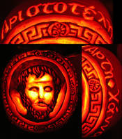 Aristotle the Pumpkin by Theophilia