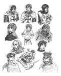 CotW Character Cartoons