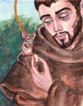 St. Francis and the Mouse