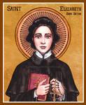 St. Elizabeth Ann Seton Icon