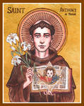 St. Anthony of Padua icon