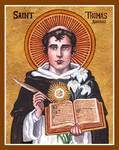 St. Thomas Aquinas icon