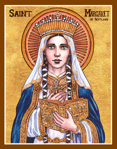 St. Margaret of Scotland icon by Theophilia on DeviantArt