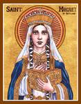 St. Margaret of Scotland icon