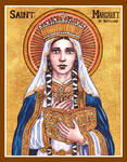 St. Margaret of Scotland icon