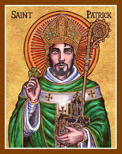 Prayer Of St Patrick Coloring Page