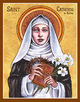 St. Catherine of Siena icon