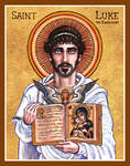 St. Luke the Evangelist icon