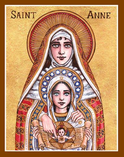 St. Anne icon