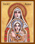 St. Anne icon