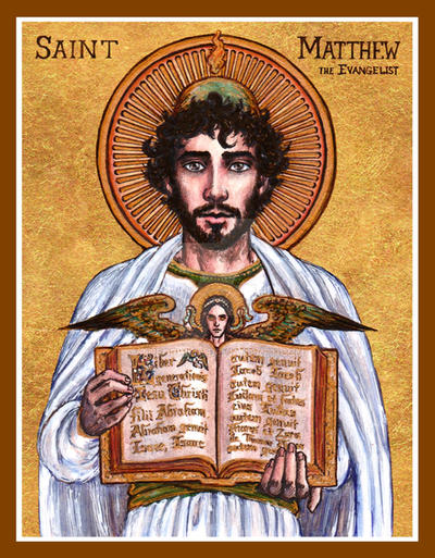 Image result for image of the evangelist matthew