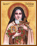 St. Therese icon