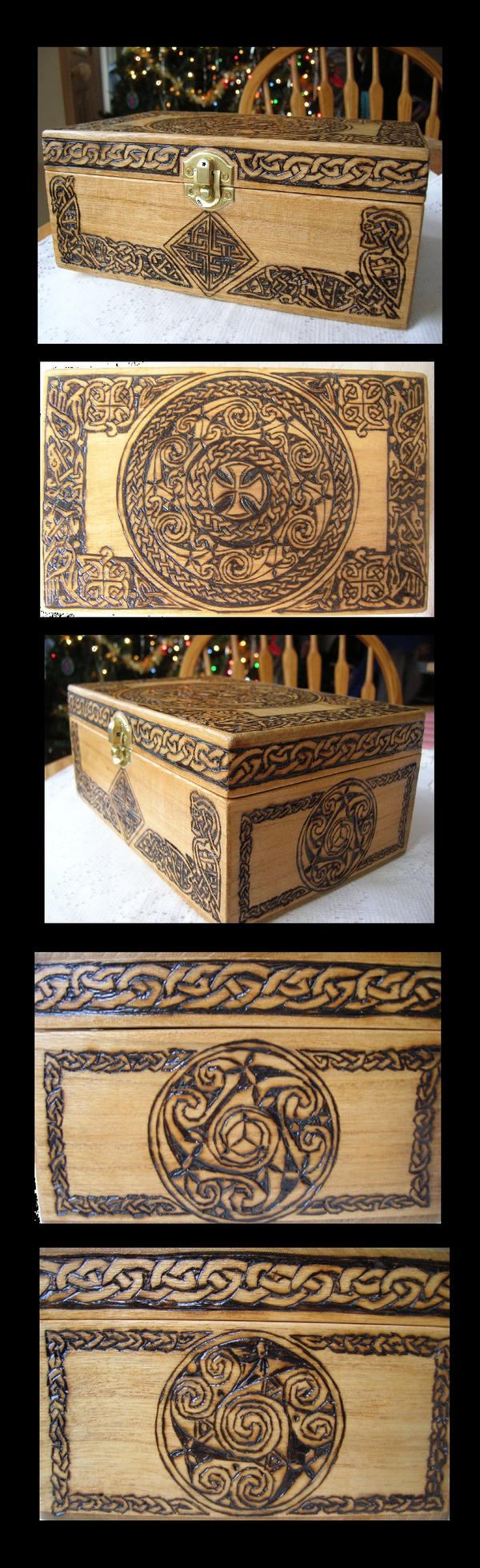Celtic Jewelry Box by Theophilia on DeviantArt