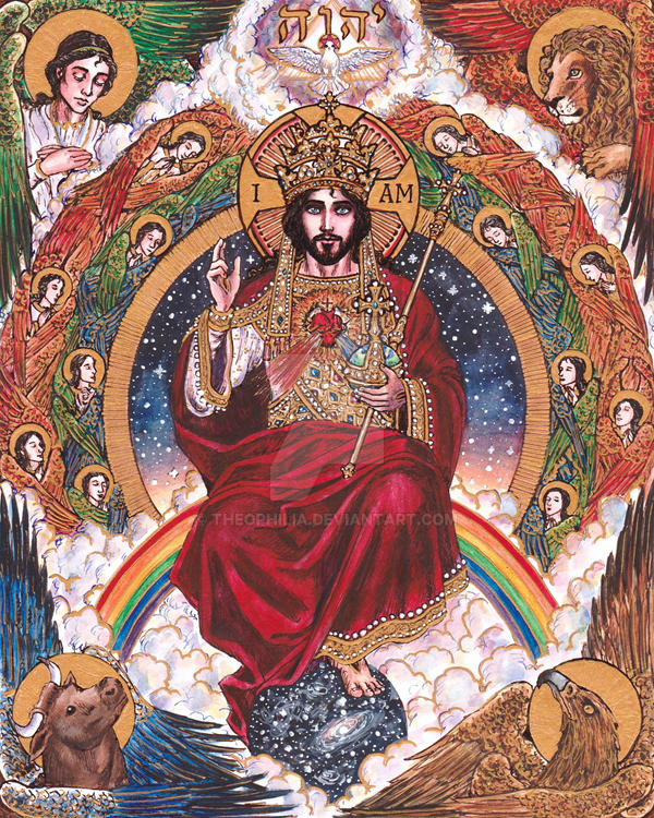 christ the king by theophilia on deviantart