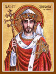 St. Gregory the Great icon
