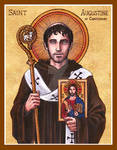 St. Augustine of Canterbury icon