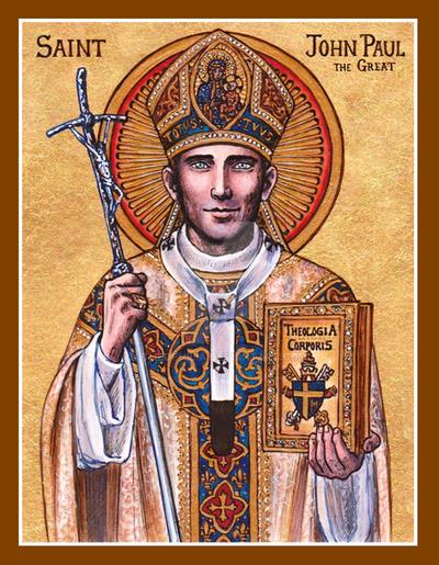 St. John Paul the Great icon