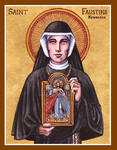 St. Faustina icon