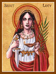 St. Lucy icon