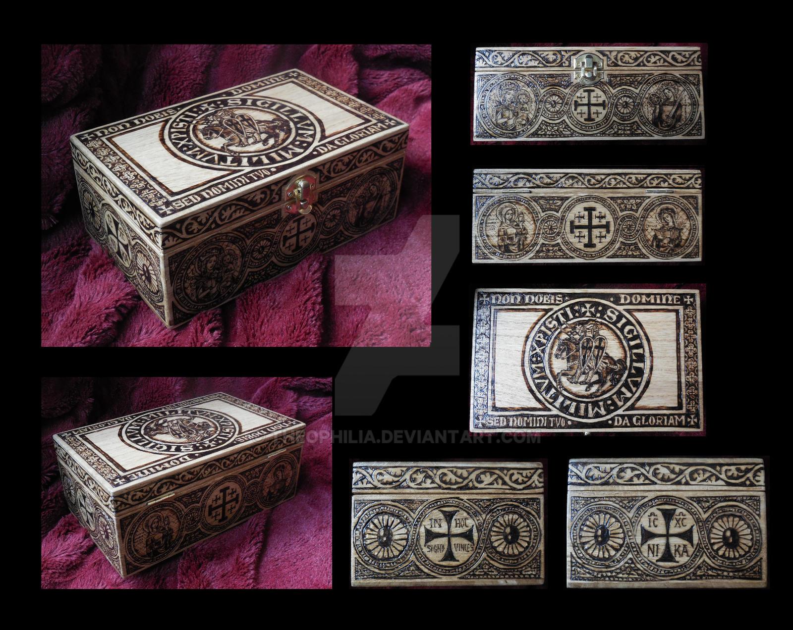 Templar Box by Theophilia