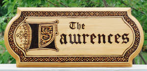 The Lawrences Plaque