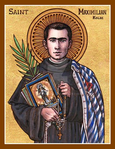 25ab2493 St. Maximilian Kolbe icon by Theophilia on DeviantArt