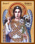 St. Gabriel the Archangel icon
