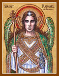 St. Raphael the Archangel icon