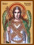 St. Raphael the Archangel icon