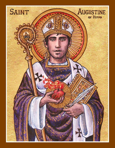St  Augustine of Hippo icon by Theophilia on DeviantArt