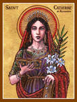 St. Catherine of Alexandria icon