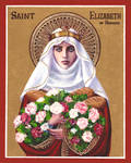 St. Elizabeth of Hungary icon
