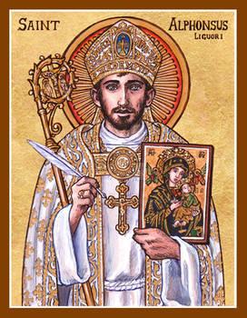 St. Alphonsus Liguori icon