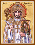 St. Alphonsus Liguori icon
