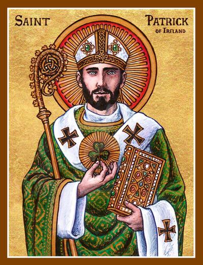 St. Patrick of Ireland icon