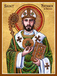 St. Patrick of Ireland icon