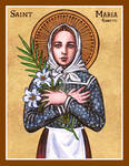 St. Maria Goretti icon