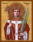 St. Thomas Becket icon