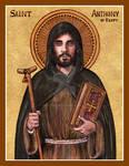 St. Anthony of Egypt icon