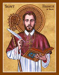 St. Francis de Sales icon